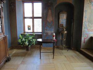 Mencendorfa nams - kapela - pirms kāzu ceremonijas